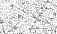 Old Map of Byley, 1897