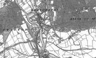 Old Map of Byram, 1890 - 1891