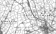 Old Map of Caermead, 1897