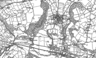 Old Map of Caerwys, 1898 - 1910