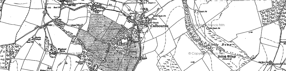 Old map of Westover Plantation in 1907