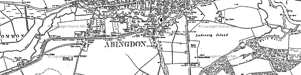 Old map of Wick Hall in 1910