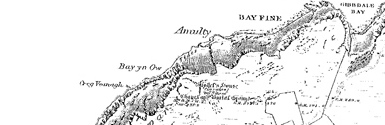 Old map of Burroo centred on your home