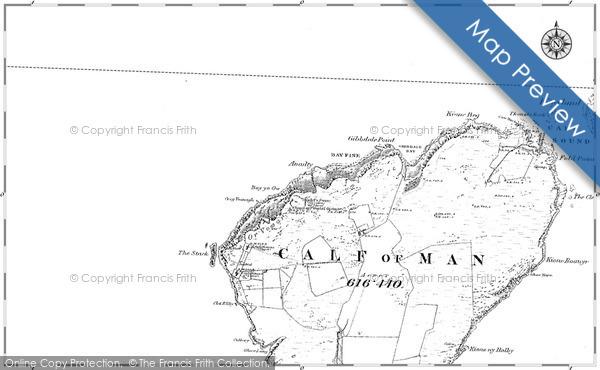 Historic map of Burroo