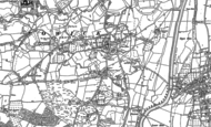Old Map of Callow End, 1884