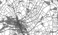Old Map of Calne Marsh, 1899