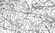 Old Map of Caltonmoor Ho, 1898