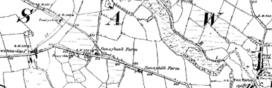 Old map of Bredaig centred on your home