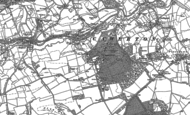 Old Map of Camerton, 1883 - 1884