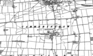 Old Map of Cammeringham, 1885
