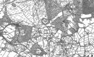 Old Map of Cannock Wood, 1882 - 1883
