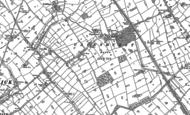 Old Map of Capenhurst, 1897 - 1909