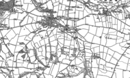 Old Map of Carew Cheriton, 1906