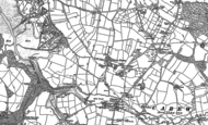 Old Map of Carew Newton, 1906