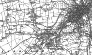 Old Map of Carisbrooke, 1896 - 1907