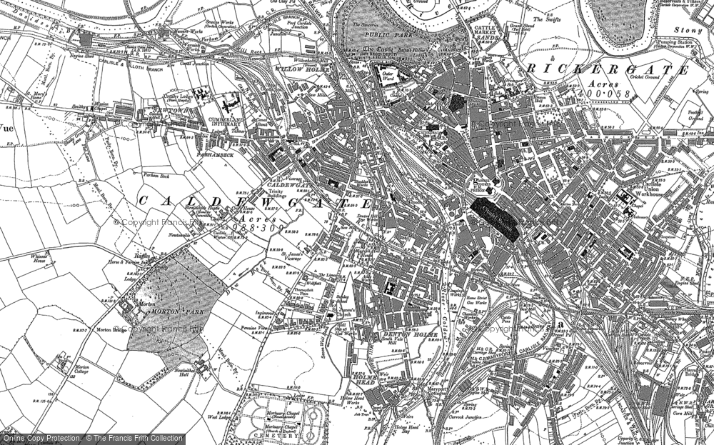 Old Maps of Carlisle Francis Frith