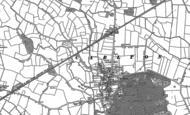 Old Map of Carlton, 1888