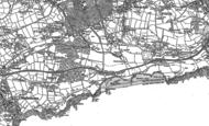 Old Map of Carlyon Bay, 1906