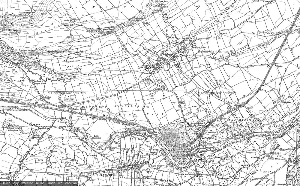 Old Map of Historic Map covering Ballowfield in 1891