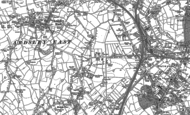 Old Map of Carr Gate, 1892