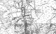 Old Map of Carrshield, 1895