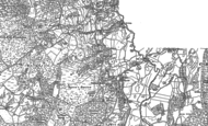 Old Map of Cartmel Fell, 1912