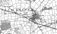 Old Map of Castle Bytham, 1887 - 1903
