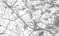 Old Map of Castle Gresley, 1900 - 1901