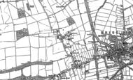 Old Map of Castlethorpe, 1886