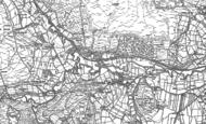Old Map of Castleton, 1892