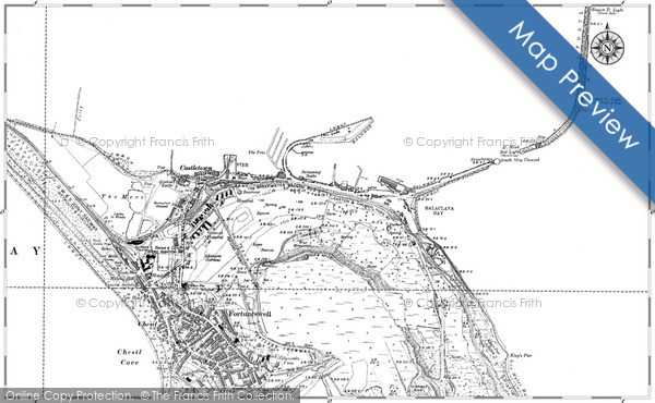 Historic Map covering Balaclava Bay