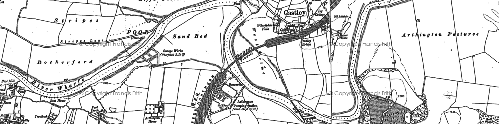 Old map of Arthington Ho in 1888