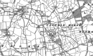 Old Map of Caundle Marsh, 1886