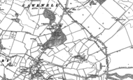 Old Map of Cawkwell, 1887