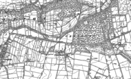 Old Map of Cawthorne, 1891