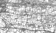 Old Map of Cefn Cribwr, 1897 - 1914