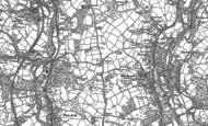 Old Map of Cefn Fforest, 1899 - 1916