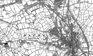 Old Map of Cefn Glas, 1913 - 1914