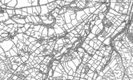 Old Map of Cefn-gorwydd, 1887