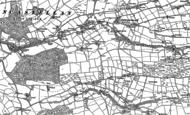 Old Map of Cefn Llwyd, 1886 - 1904
