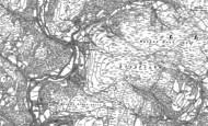 Old Map of Ceinws, 1900