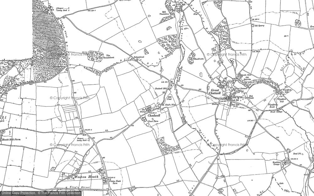 Chadwell, 1900 - 1901