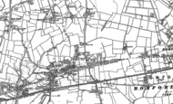 Old Map of Chadwell Heath, 1894 - 1895