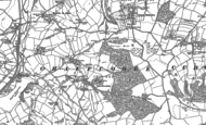 Old Map of Chaffcombe, 1886 - 1901