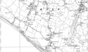 Old Map of Chale, 1906 - 1907
