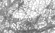 Old Map of Chalford Hill, 1882 - 1883