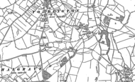 Old Map of Chalgrave, 1881