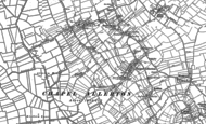 Old Map of Chapel Allerton, 1884