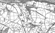 Old Map of Chapel Cleeve, 1902
