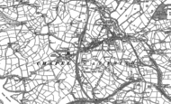 Old Map of Chapel-en-le-Frith, 1879 - 1896